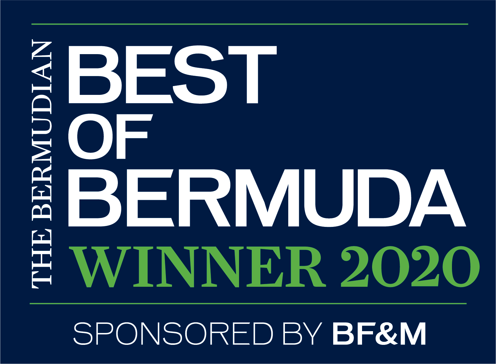 Best of Bermuda Award Winner 2020